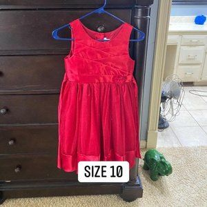 Perfectly Red Sparkle Dress